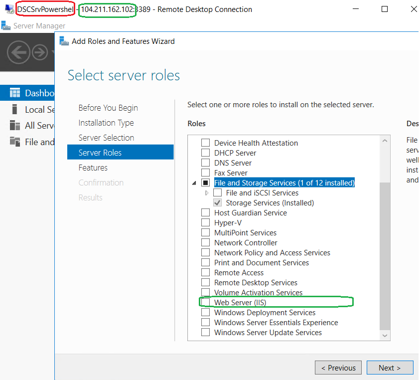 Configure Azure PowerShell Desired State