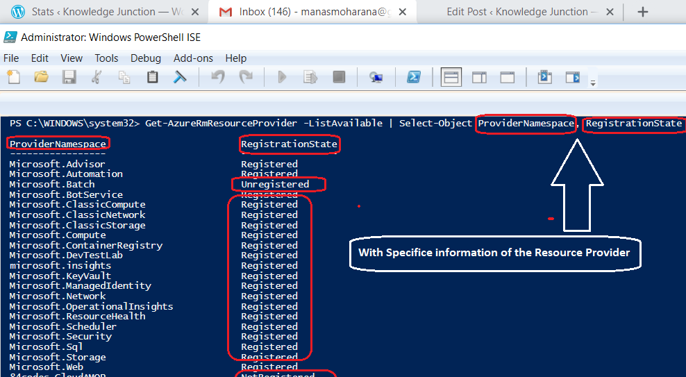 Azure – Resource Providers with PowerShell and CLI