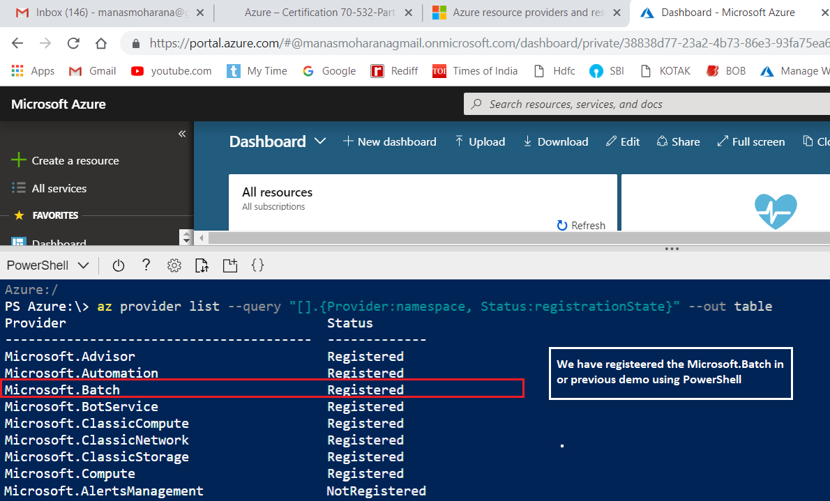 Azure – Resource Providers with PowerShell and CLI | Knowledge Junction